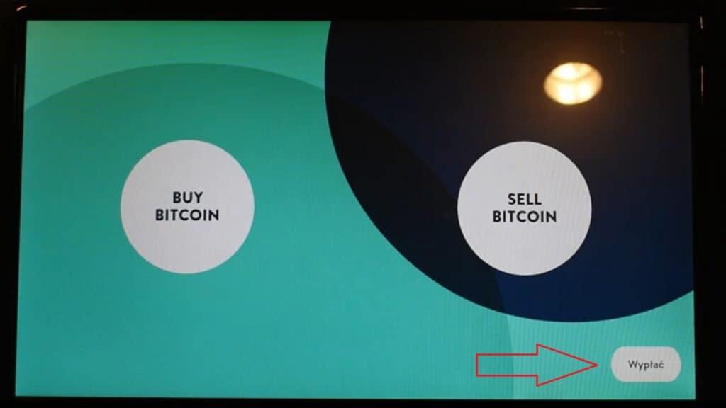 Bitomat: Wypłać gotówkę